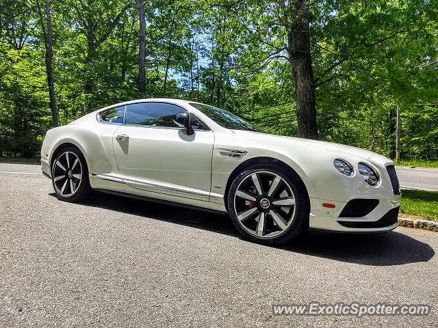 Bentley Continental spotted in Watchung, New Jersey