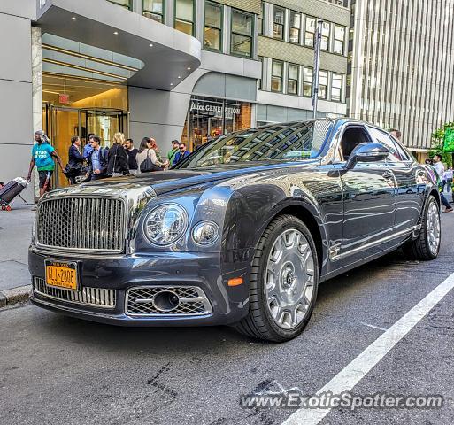 Bentley Mulsanne Spotted In Manhattan, New York On 06/03/2019