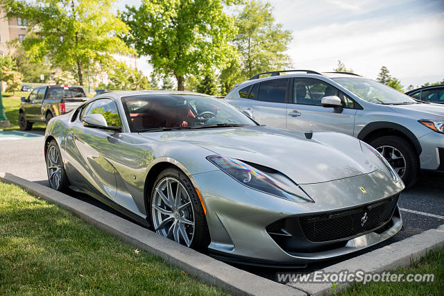 Ferrari 812 Superfast spotted in Hershey, Pennsylvania