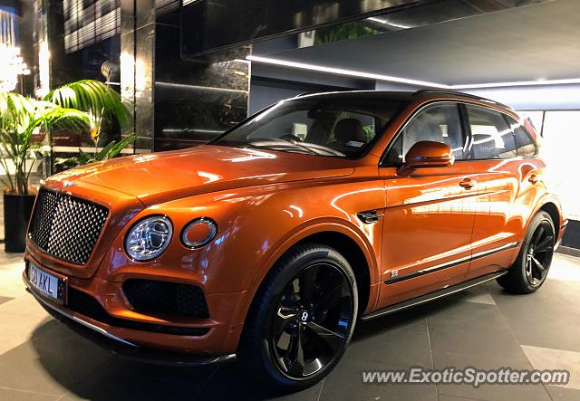 Bentley Bentayga spotted in Auckland, New Zealand