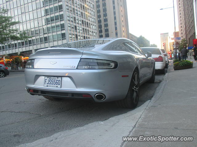 Aston Martin Rapide spotted in Montreal, Canada