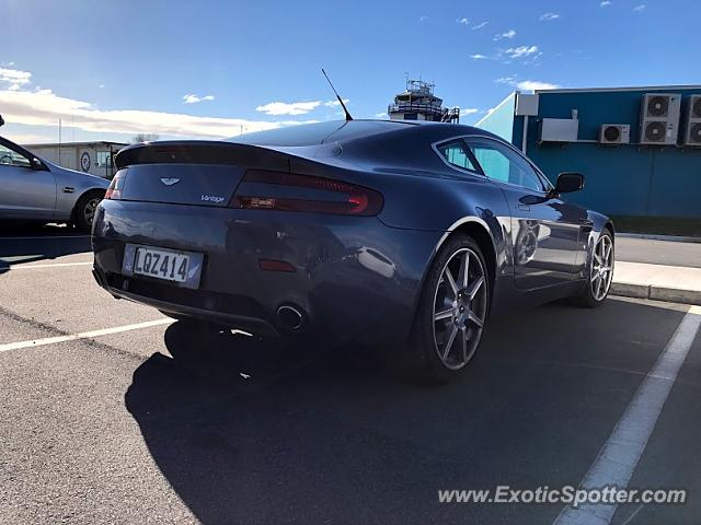 Aston Martin Vantage spotted in Wellington, New Zealand