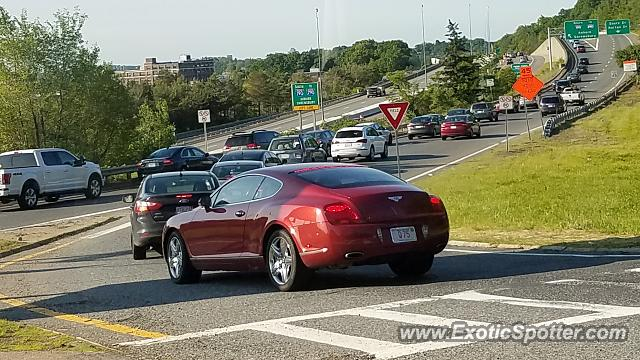 Bentley Continental spotted in Worcester, Massachusetts