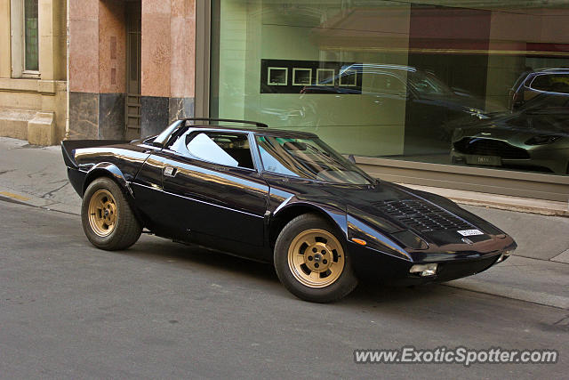 Lancia Stratos spotted in Paris, France