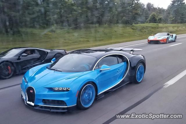 Bugatti Chiron spotted in Columbus, Ohio