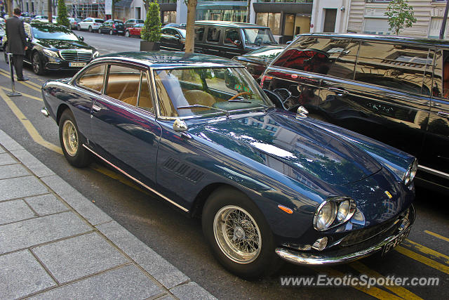 Ferrari 330 GTC spotted in Paris, France