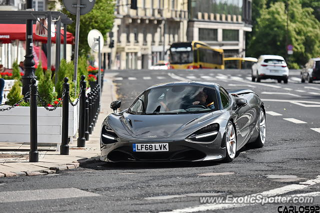 Mclaren 720S spotted in Warsaw, Poland
