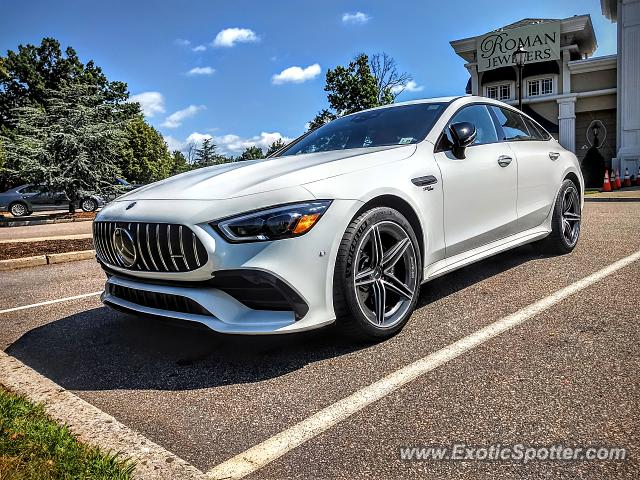 Mercedes AMG GT spotted in Bridgewater, New Jersey