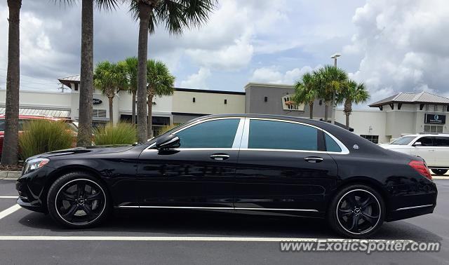 Mercedes Maybach spotted in Jacksonville, Florida
