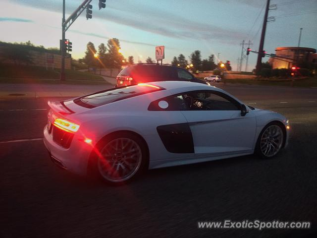Audi R8 spotted in Lakeville, Minnesota