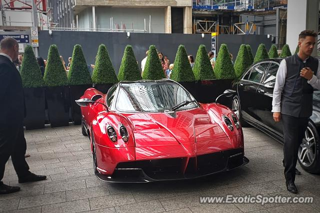 Pagani Huayra spotted in London, United Kingdom