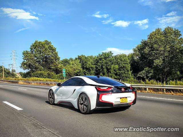 BMW I8 spotted in Clinton, New Jersey