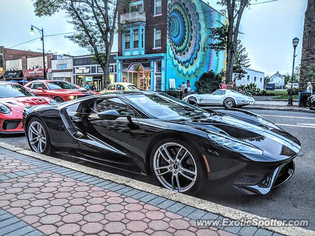 Ford GT spotted in Somerville, New Jersey
