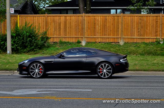 Aston Martin Virage spotted in Toronto, Canada
