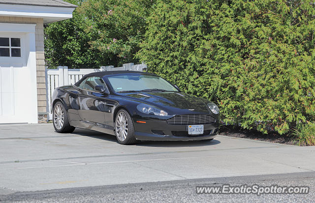 Aston Martin DB9 spotted in Stone Harbor, New Jersey