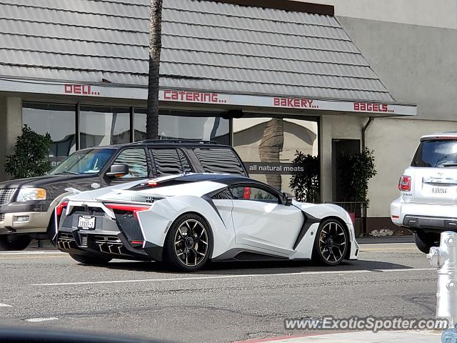 W Motors Fenyr Supersport spotted in Beverly Hills, California