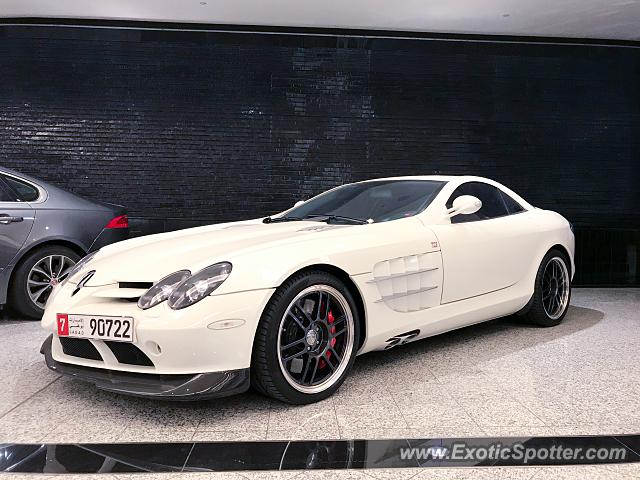 Mercedes SLR spotted in Dubai, United Arab Emirates