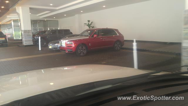Rolls-Royce Cullinan spotted in Atlantic city, New Jersey