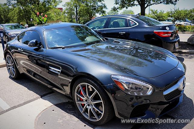 Mercedes AMG GT spotted in Columbus, Ohio
