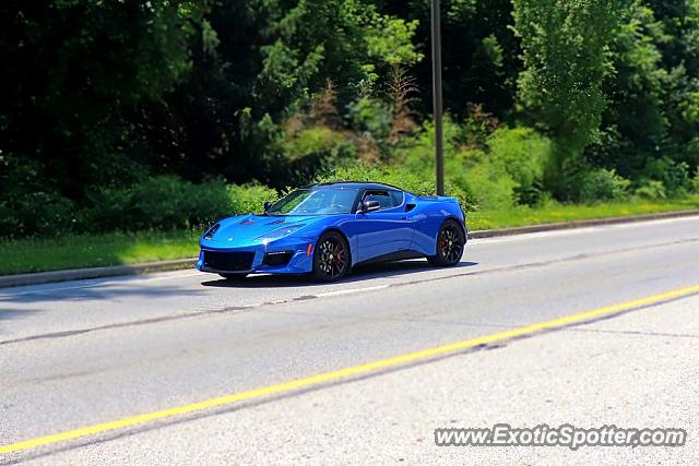 Lotus Evora spotted in Columbus, Ohio
