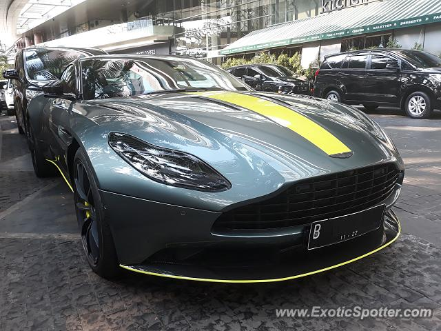 Aston Martin DB11 Spotted In Jakarta, Indonesia On 09/15/2019