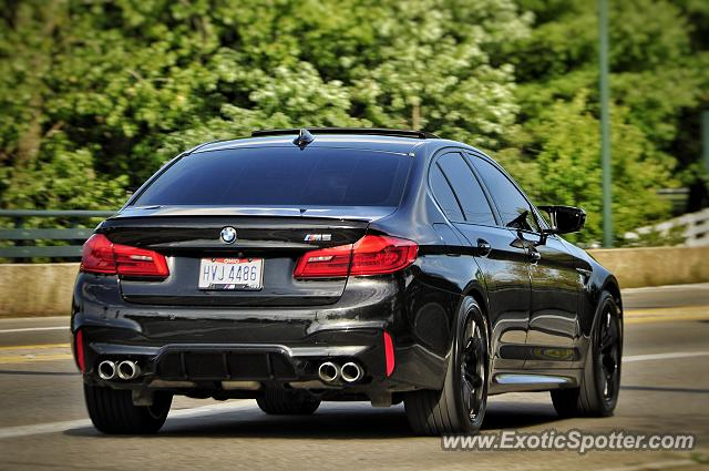 BMW M5 spotted in Columbus, Ohio