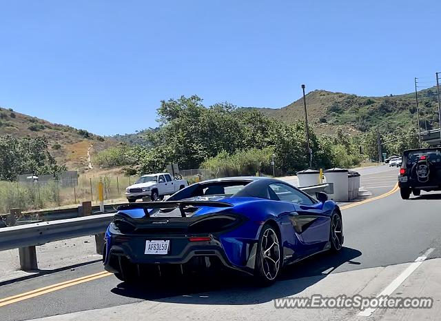 Mclaren 600LT spotted in Laguna Beach, California