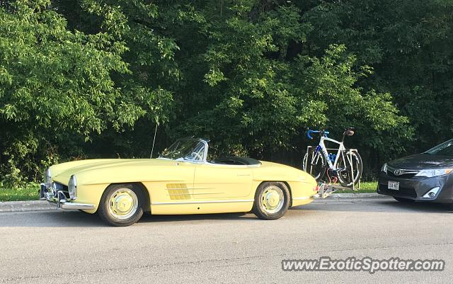 Mercedes 300SL spotted in Elkhart Lake, Wisconsin