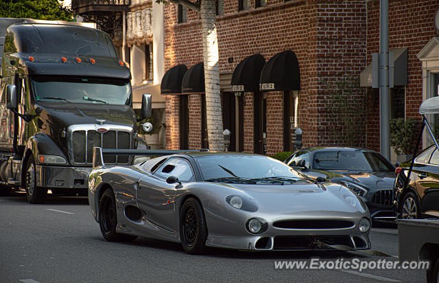 Jaguar XJ220 spotted in Beverly Hills, California
