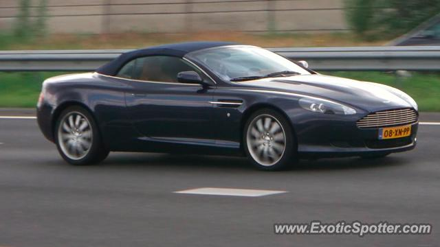 Aston Martin DB9 spotted in PAPENDRECHT, Netherlands