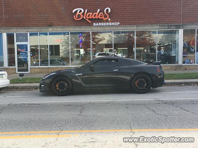 Nissan GT-R spotted in Des Moines, Iowa