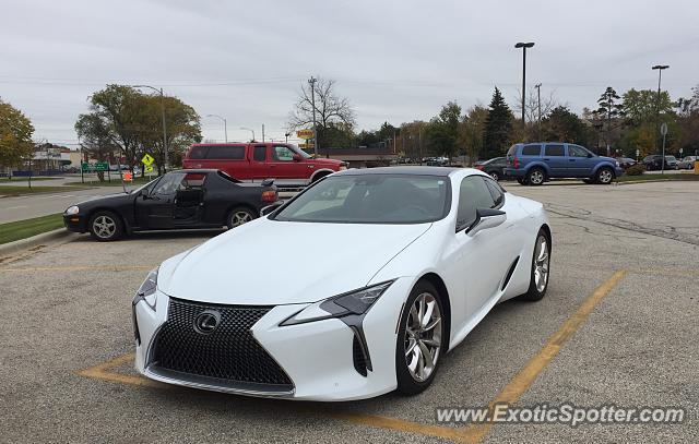 Lexus Of Milwaukee >> Lexus Lc 500 Spotted In Milwaukee Wisconsin On 10 28 2019