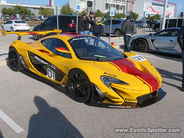 Mclaren P1 spotted in Austin, Texas