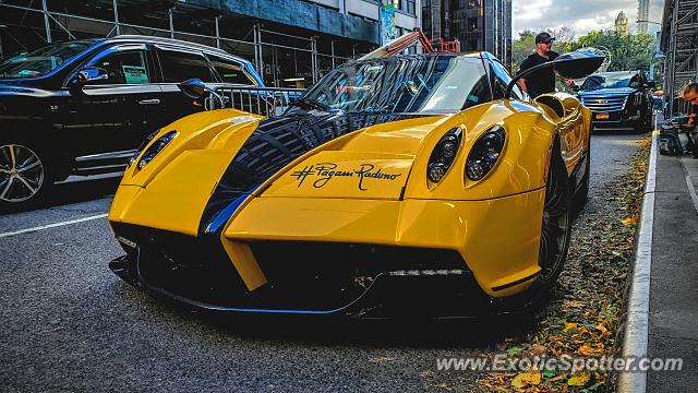 Pagani Huayra spotted in Manhattan, New York