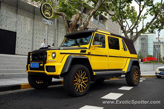 Mercedes Maybach G650 Landaulet Spotted In Shanghai China On 09 29 2019