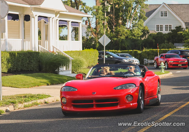 Dodge Viper spotted in Allenhurst, New Jersey