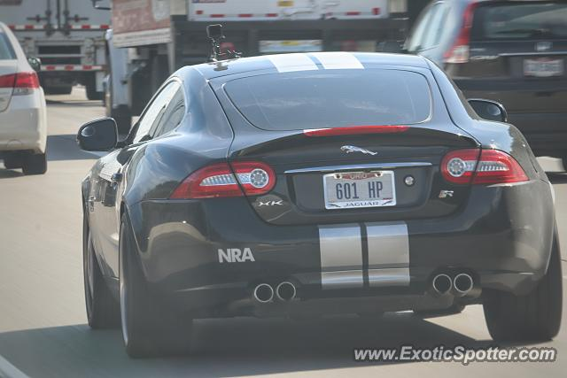 Jaguar XKR spotted in Columbus, Ohio