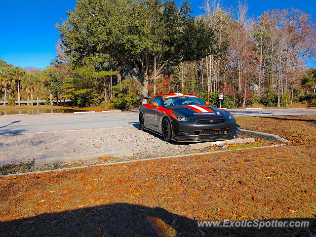 Nissan GT-R spotted in Bluffton, South Carolina