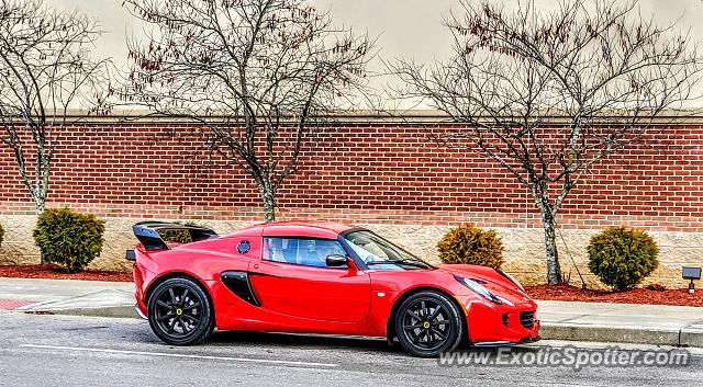 Lotus Elise spotted in Florence, Kentucky