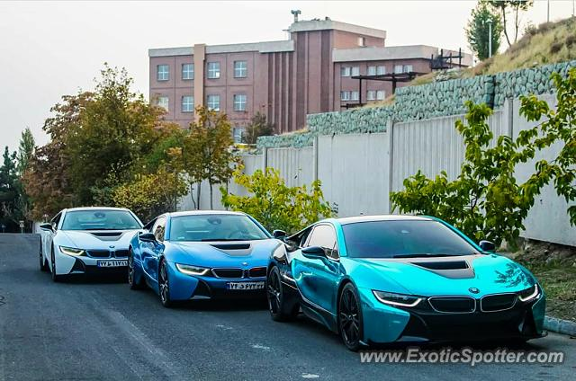 BMW I8 spotted in Tehran, Iran