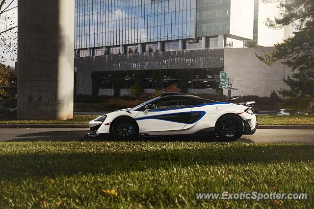 Mclaren 600LT spotted in Tyson's Corner, Virginia