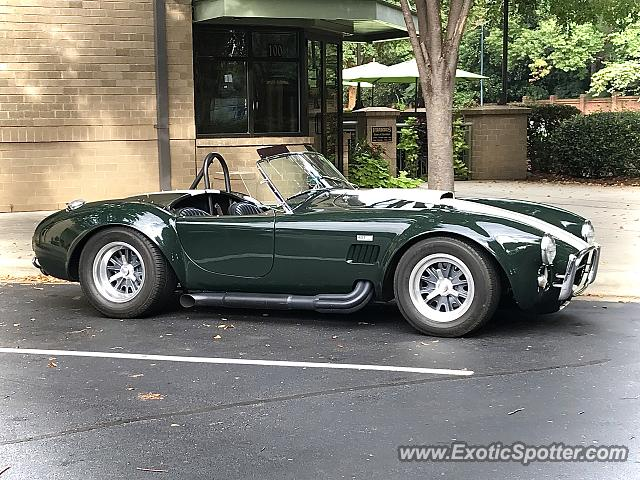 Shelby Cobra spotted in Charlotte, North Carolina
