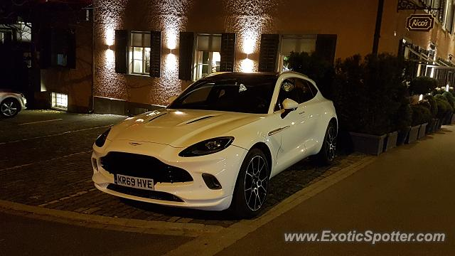 Aston Martin DBX spotted in Zurich, Switzerland