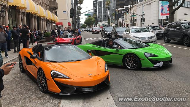 Mclaren 570S spotted in Beverly Hills, California
