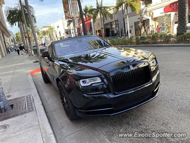 Rolls-Royce Dawn spotted in Beverly Hills, California