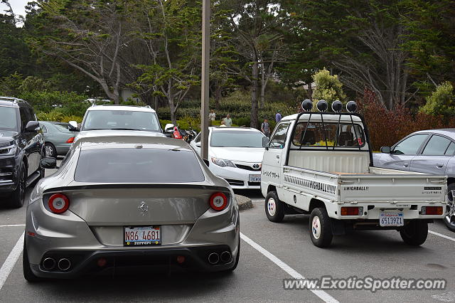 Ferrari FF spotted in Pebble Beach, California