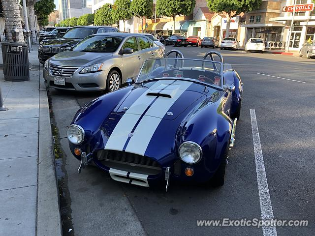 Shelby Cobra spotted in Beverly Hills, California