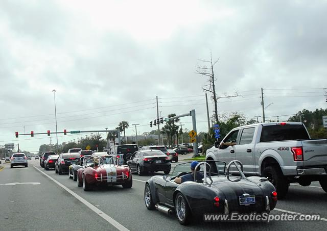 Shelby Cobra spotted in Jacksonville, Florida