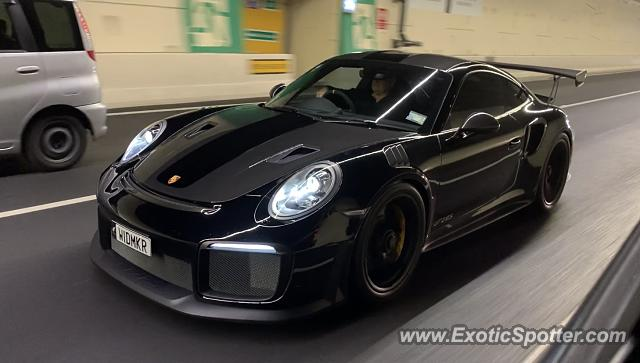 Porsche 911 GT2 spotted in Auckland, New Zealand