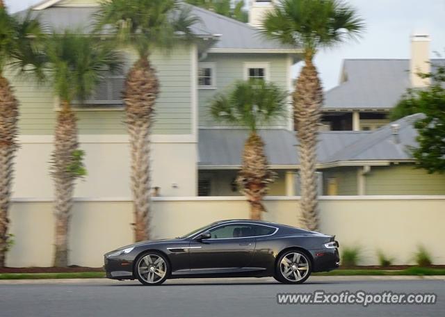 Aston Martin Virage Spotted In Jacksonville Florida On 06 28 2020